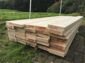 Dry wood for sale £5 per plank ONO (3m long) RRP £15
