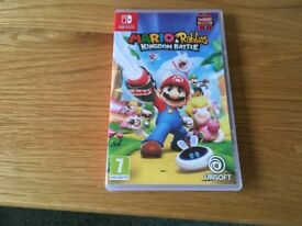 Nintendo Switch Game – Mario Rabbids Kingdom Battle