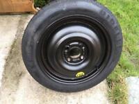 Pirelli space saver wheel. 4 stud 15inch