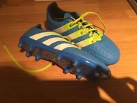 Boys size 1 Adidas Astro boots