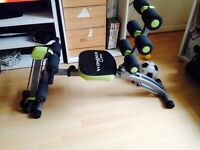 Wonder Core 2 with built in Twisting Seat and Rower only used 3 months