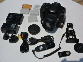 Canon EOS 550D Camera with extras (As new)