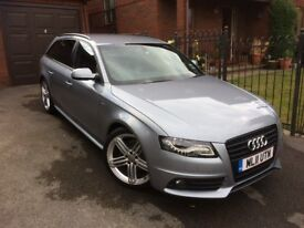 2011 Audi A4 Avant Black Edition, low miles and Full Audi Service History