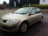 2006 56 reg Renault megane 1.6 dynamique facelift vgc inside and out Hpi clear