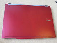 Red Dell Latitude E4300 Laptop + Windows 10 Activated + 2 Batteries + Power Cable