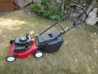 Mountfield Hand propelled petrol lawnmower HP 454 45 cms cutting width with grass box