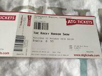 Rocky horror show tickets ! Liverpool empire