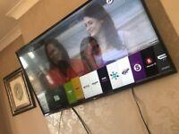 "LG HD 4K 55"" less than 3 months old"