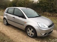 Ford Fiesta Zetec, Low mileage, 54 plate, nice clean car.