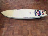 5ft 10'Quad Fish Surftech surfboard for sale