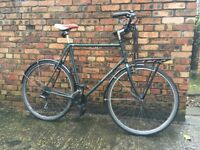 Dawes Street Lite Town Cargo Porteur Bike (XL Frame)