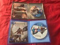 (PS4) Battlefield 1 & Black Flag