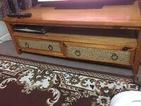 Oak woods coffee table