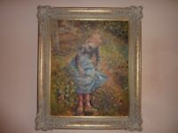 Extra Large Beautiful Oil Painting Pissarro on Canvas