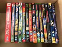 Kids DVD Bundle - Fireman Sam, Batman, Thomas, Turtles, Power Rangers