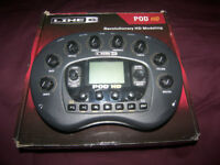 Line 6 POD HD - Desktop Multi-Effects Processor & Amp Emulator for Guitar , Bass and Vocal.