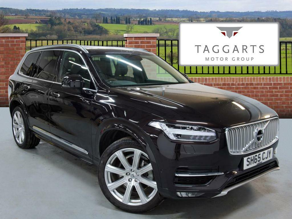Volvo XC90 2.0 D5 Inscription 5dr AWD Geartronic (black) 2015-09-23   in Motherwell, North ...