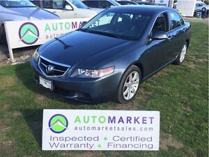 2005 Acura TSX Navigation, Leather, Moonroof