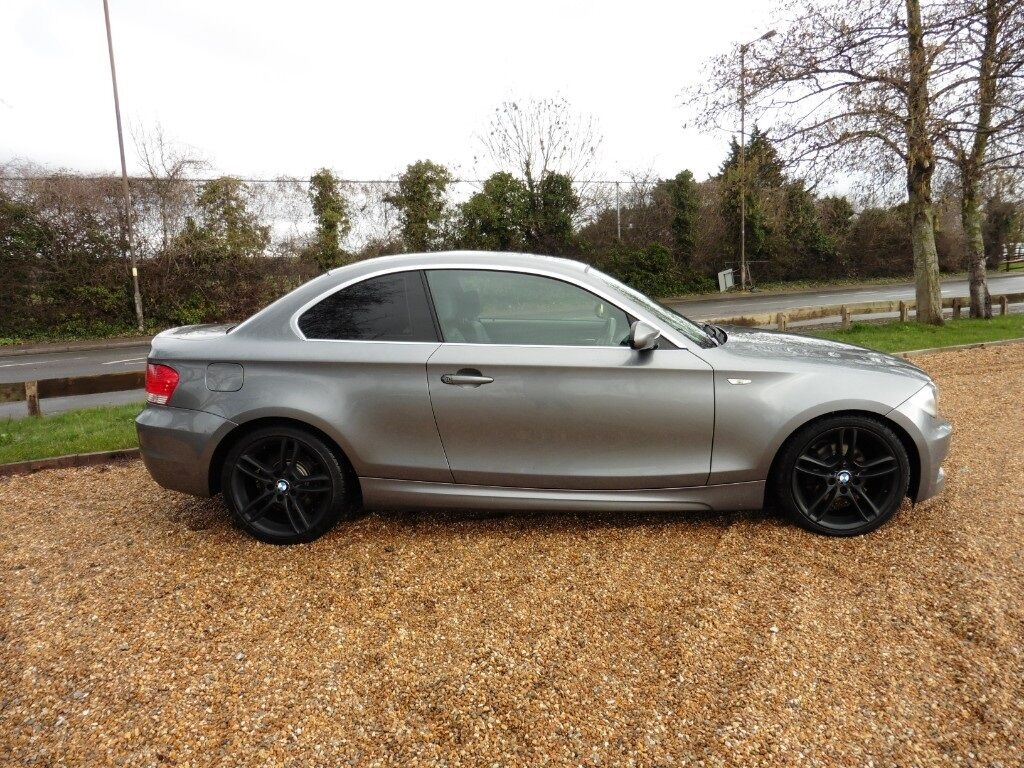 bmw 1 series 120d m sport coupe tip troni auto immaculate dolphin grey metallic 2009 in. Black Bedroom Furniture Sets. Home Design Ideas