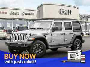 2019 Jeep Wrangler Unlimited SPORT 4X4 | UCONNECT