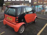 Smart City-Coupe 2005, 1 year MOT. 07902352751