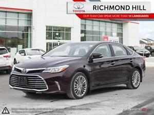2018 Toyota Avalon LIMITED|Heated & Ventilated Seats|Leather|Nav