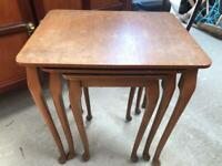 Nest of tables FREE DELIVERY PLYMOUTH AREA