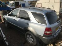 Kia Sorento diesel spare parts available doors alloy wheels ecu set