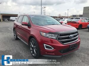 2016 Ford Edge Sport **FULL, GPS, TOIT PANO, CAMERA + WOW**