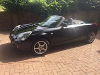 2004 Toyota MR2 1.8 Black Leather Perfect Convertible Summer Car New MOT