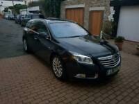 Vauxhall insignia top of the range