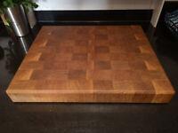 Wooden Chopping Board (birch & juniper tree)