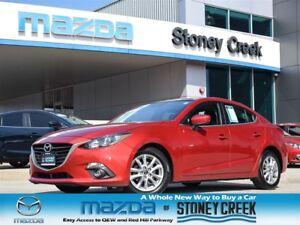 2014 Mazda MAZDA3 GS AUTO,SUN+FOGS,NEW R/BRAKES,ACC FREE,1 OWNER