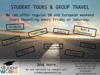 Weekend European trips