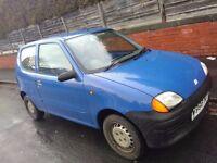 Fiat Siecento Mia 3dr 0.9l very low mileage