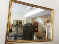 MIRROR FOR SALE-SIZE 110 CM X 85 CM-WOODEN FRAME