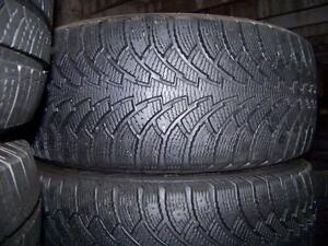 205-65R16 > HIVER , 1, 2 ou 4 pneus usagés .