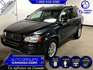 2011 Volvo XC90 XC90 LEVEL II. AWD.7 PASSAGERS. CUIR, TOIT!