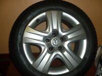 Vauxhall Insignia wheels 255/55/17 Full set