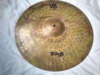 Stagg vintage bronze 19 inch crash