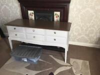 Upcycled stag minstrel drawer unit