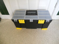 PERFECT CHRISTMAS GIFT-LARGE STANLEY TOOL BOX-NEW