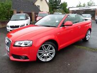 Audi A3 TDI S LINE (red) 2010
