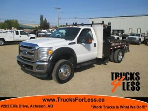 2011 Ford F-550 XLT 4X4, 11 Ft SERVICE DECK!!!