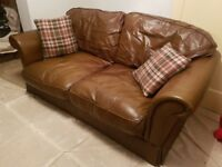 Leather sofa laura ashleu
