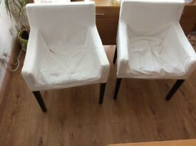 Small ikea armchair 60cmWx50Dx80H