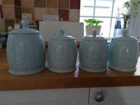 Kitchen canister jars