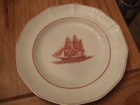 Wedgewood Dinner Plate Flying Cloud