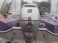 Honda bf8d outboard engine
