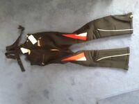 MENS SKI RACING PANTS .BlackTrespass size 36.As new ,never been worn